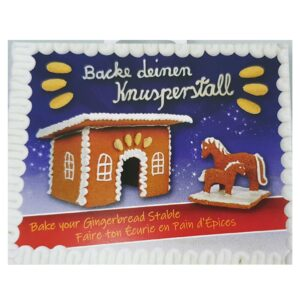 Cookie Cutter Gingerbread Stable