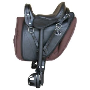 Saddle Trail Featherweight Solo Leather