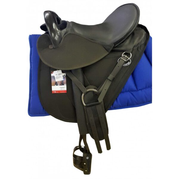 Saddle Trail Featherweight Solo Leather Wide Fit