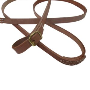 Reins Leather 19mm Natural Solo